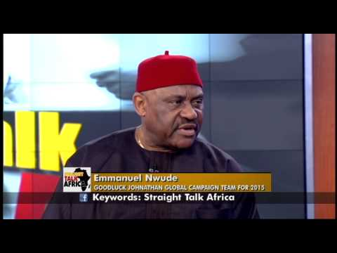 Straight Talk Africa Guest Emmanuel Nwude on Readiness of ...
