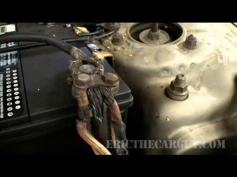 No Crank No Start, Checking Battery Terminals - EricTheCarGuy