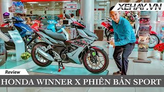 Honda Winner X bản thể thao với ABS giá hợp lý | XE HAY