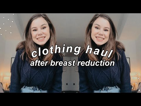 HAUL 🎉 Buying MORE Clothes And Bras I Don't Need After Breast-reduction Surgery