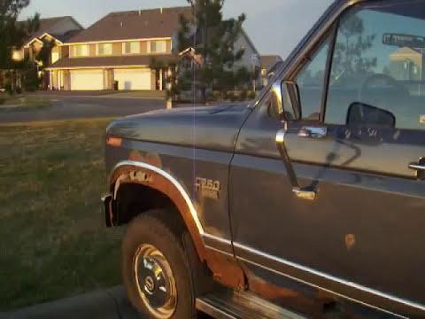 1986 Ford F250 6.9 International Diesel