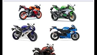 TOP 5 600CC SUPERSPORT BIKES OF 2015