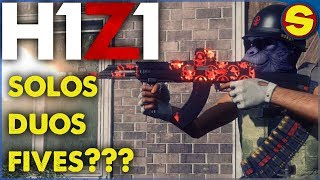 🔴 H1Z1 PS4 LAST DAYS BEFORE FULL RELEASE! 🔴
