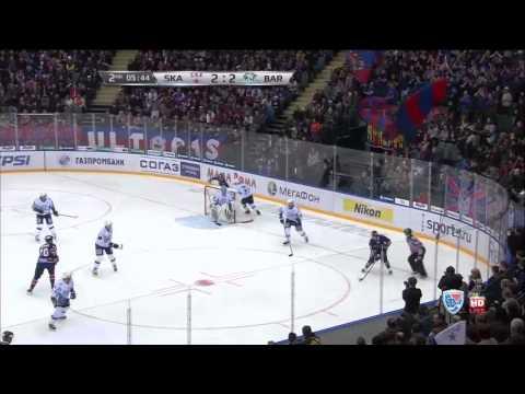KHL ska vs Bar 2-28-14