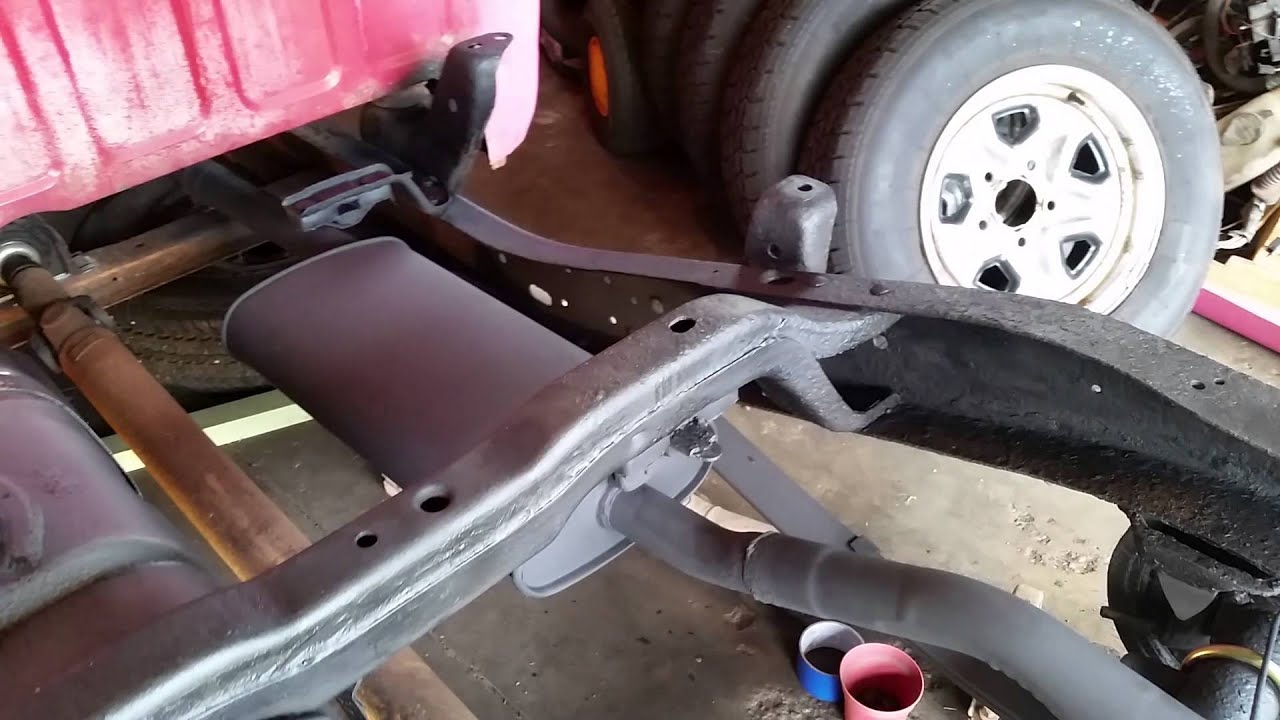 S project undercoating gas tank u bolts youtube
