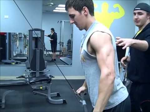Nutri-Sport Training Tip: Cable Pullovers
