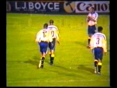 torquay united home highlights 2000/2001
