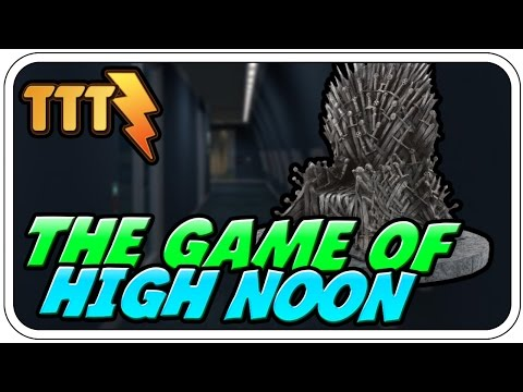 THE GAME OF HIGH NOON - ♠ TROUBLE IN TERRORIST TOWN BLITZ #970 ♠ - Dhalucard