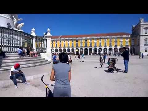 Praça do Comércio, Commerce square in Lisbon, Portugal