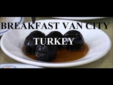 Turkey-Van (Delicious breakfast in Van) Part 33