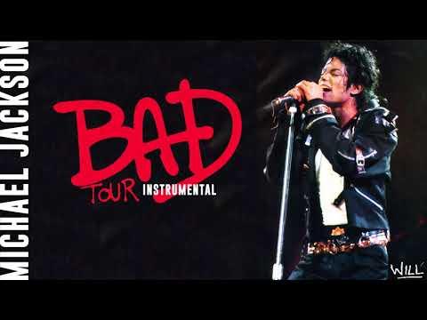 Michael Jackson - BAD (Instrumental) [BAD Tour]