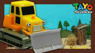 Tayo Billy the Bulldozer l What does bulldozer do? l Tayo Job Adventure l Tayo the Little Bus
