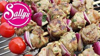 Grill-Marinade für Rindfleisch-Spieße / Entrecôte-Spieße