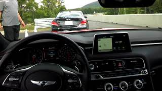2019 Genesis G70 3.3T On The Track