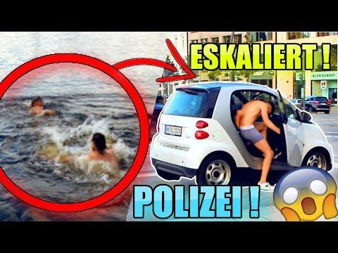 N*CKT ins AUTO EINSTEIGEN..😱 | ESKALIERT mit POLIZEI ! | Denizon