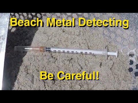 Repeat The Dangers of Beach Metal Detecting  TreasurePro live digs