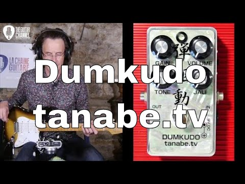 Dumkudo overdrive pedal from tanabe.tv used by Robben Ford or Larry Carlton