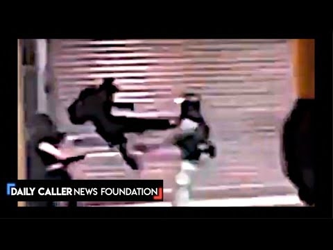 Chris Baker - Hong Kong Protester Delivers Flying Kick To Riot Officer; FREEDOM!