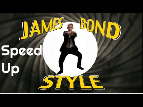 Speed Up : PSY - GANGNAM STYLE (강남스타일) - PARODY - James Bond Style By Matthias
