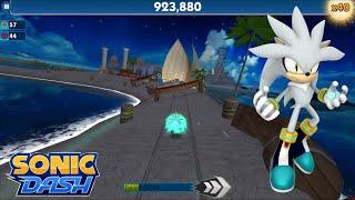 Sonic Dash (iOS) - Silver Gameplay
