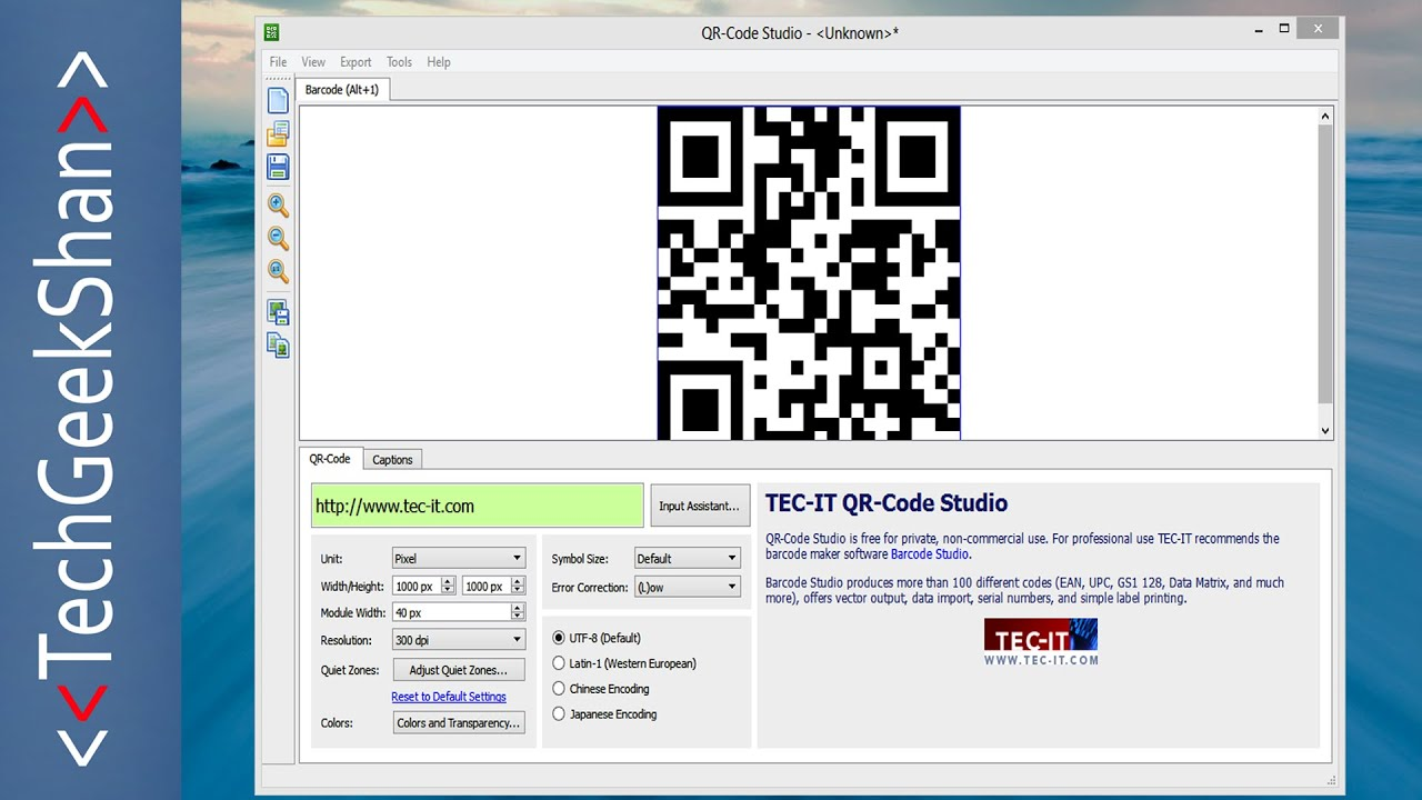 Generate QR-Code Offline | Windows Application
