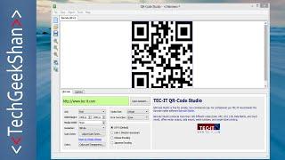 generate qr code offline windows application