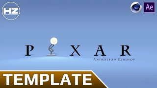 Template | Intro PIXAR | Cinema 4D / After Effects