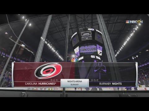 S1G1 - (L) Burnaby Nights VS Carolina Hurricanes - 7 - 2