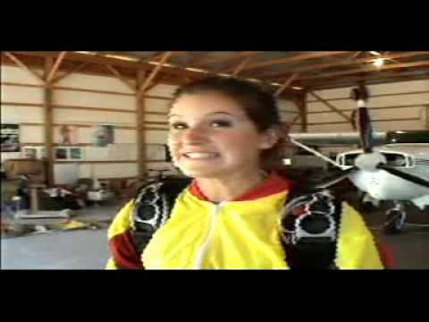 Jessica Owens' First Jump- Skydiving