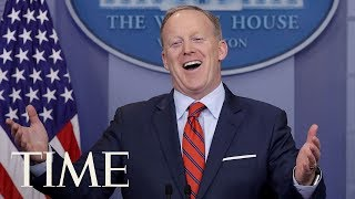 Sean Spicer's Greatest Hits As White House Press Secretary To President Donald Trump | TIME thumbnail