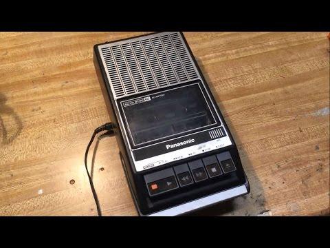 Your dad's Panasonic Tape Recorder Model RQ-2108