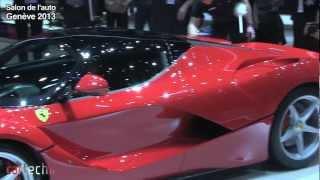 La Ferrari : Salon de l'auto Genève 2013
