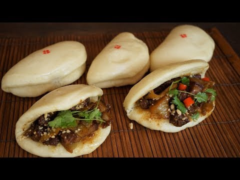 Gua Bao: Chinese Pork Belly Steamed Cut Buns - Morgane Recipes