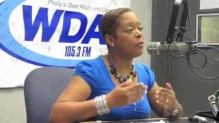 City Councilwoman Cindy Bass at WDAS-FM Philadelphia