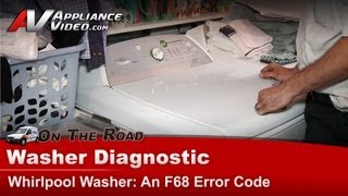 whirlpool washer diagnostic an f68 error code wtw6400sw2