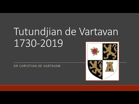Tutundjian De Vartavan The Aristocracy Of Artsakh