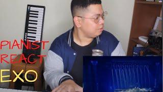 PIANIST REACT EXO | TERNYATA BAEKHYUN BEGITU YA MAIN PIANONYA | MY ANSWER BY EXO (LIVE)