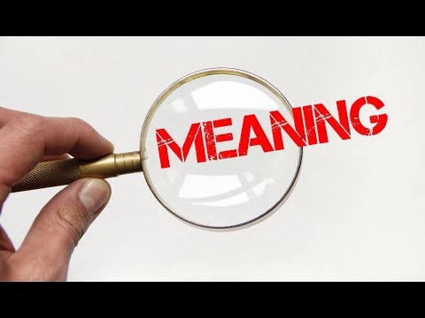 DIDACTIC MEANING IN ENGLISH