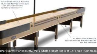 Shuffleboard Table Buying Guide: How To Spot Quality