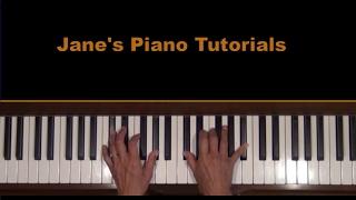 Bach / Cortot  Arioso BWV 1056 Piano Tutorial