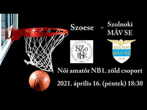 Szoese - Szolnok MÁV SE - Női amatőr NB1. Zöld Csoport