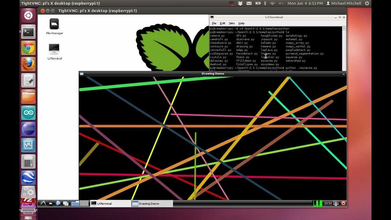 Raspberry Pi + OpenCV - MitchTech | MitchTech