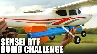 Flite Test | Flyzone Sensei FS RTF - BOMB CHALLENGE!