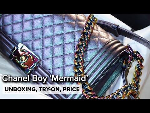 Chanel Cruise 2016 | MERMAID Iridescent Boy Medium | Unboxing