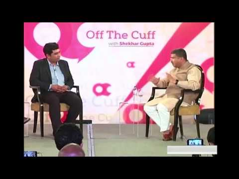 Off The Cuff with Dharmendra Pradhan