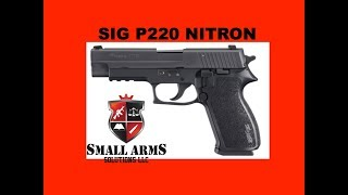 Sig P220 Nitron Handgun