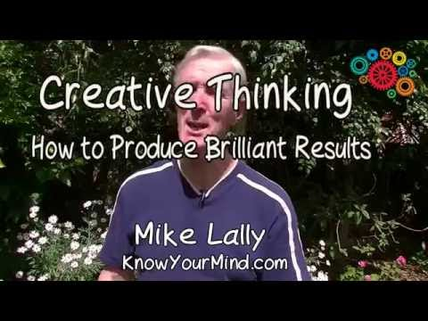 How to Think Creatively PART SEVEN