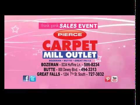 Pierce Carpet Mill Outlet Think Pink S Event