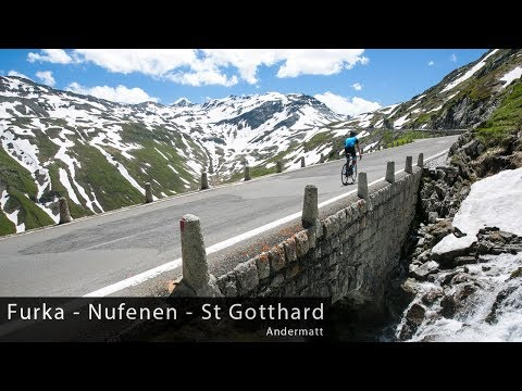Giants of Switzerland - Furka, Nufenen & St Gotthard - Cycling Inspiration & Education
