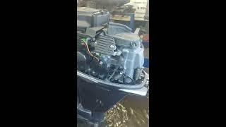 Ямаха 15 For 12 год от АквацентрДВ запуск обзор замер компрессии Японские лодочные моторы Владивост